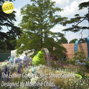 Ecover Garden designed by Matthew Childs, Built by NealeRichards Ltd