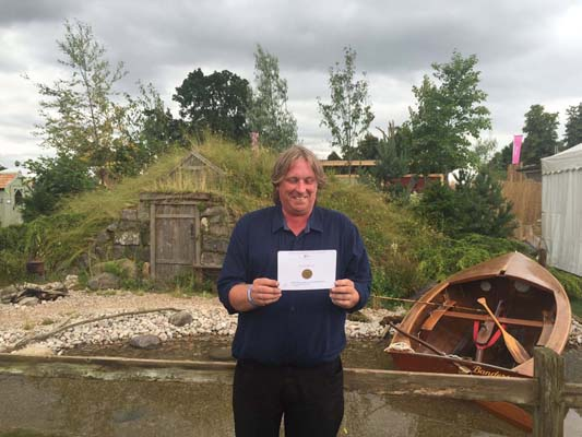 The Viking Cruises Scandinavian Garden Designed by Stephen Hall Built by JDC Gardens Sponsored by Viking Cruises