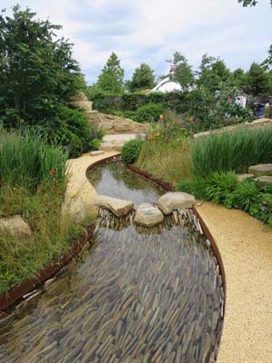 Zolfora Outstanding Natural Beauty Designed by Helen Elks-Smith Built by Wycliffe Landscapes Ltd Sponsored by Zoflora