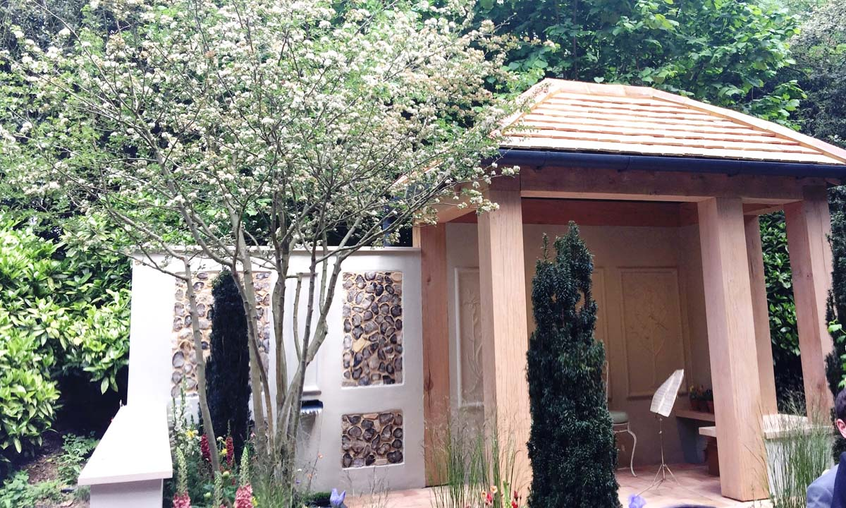 PRO CORDA TRUST – A SUFFOLK RETREAT (artisan gardens) - Designed by: Frederic Whyte - Built by: Living Landscapes - Sponsored by: Pro Corda Trust